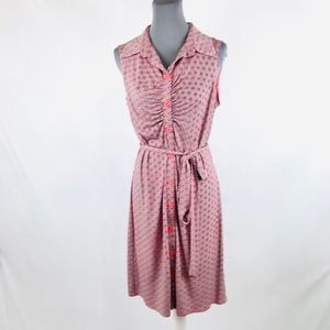 Laundry 12 red and white stretchy night out dress